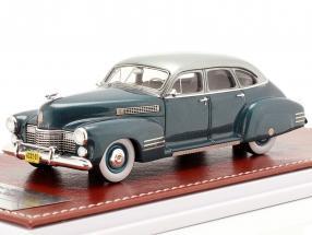 Cadillac Series 63 Touring Sedan 1941 ocean blue metallic 1:43 Great Iconic Models