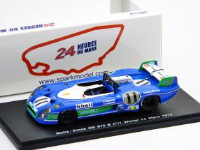 Matra - Simca MS670B #11 Pescarolo / Larrousse Winner 24h LeMans 1973 1:43 Spark