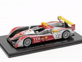 Audi R10 TDI #2 Winner 24h LeMans 2008 Capello, Kristensen, McNish 1:43 Spark