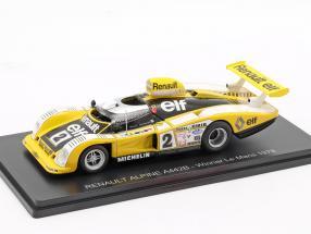 Renault Alpine A442 #2 Winner 24h LeMans 1978 Pironi, Jaussaud 1:43 Spark