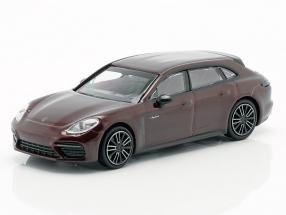 Porsche Panamera Turbo S E-hybrid Sport Turismo 2017 red metallic 1:87 Minichamps