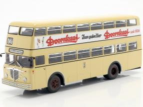 Büssing D2U With open Rear entry Doornkaat beige 1:43 Minichamps