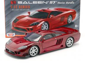 Saleen S7 Twin Turbo year 2005 red metallic 1:12 MotorMax