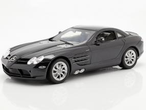 Mercedes-Benz SLR McLaren year 2005 black 1:12 MotorMax
