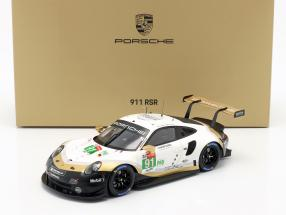 Porsche 911 RSR #91 worldchampion 24h LeMans 2019 With Showcase 1:18 Spark