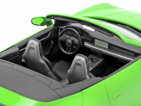 Porsche 911 (992) Carrera 4S Cabriolet year 2019 lizard green