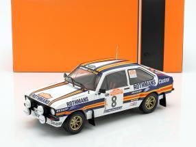 Ford Escort MK II RS1800 #8 3rd Rallye SanRemo 1980 Mikkola, Hertz 1:18 Ixo