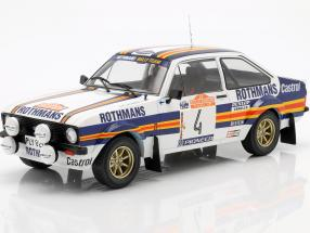 Ford Escort MK II RS1800 #4 2nd Rallye SanRemo 1980 Vatanen, Richards 1:18 Ixo