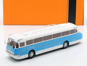 Ikarus 66 bus year 1972 blue / white 1:43 Ixo