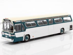 GMC Bus New Look Fishbowl year 1969 turquoise / silver