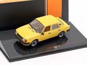 Skoda 120L year 1983 dark yellow 1:43 Ixo