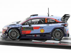 Hyundai i20 WRC #5 5th Rallye Monte Carlo 2018 Neuville, Gilsoul