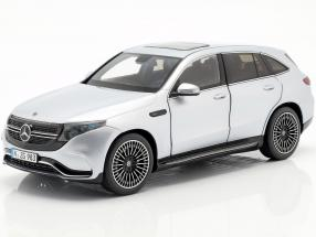 Mercedes-Benz EQC 4matic (N293) year 2019 hightech silver 1:18 NZG