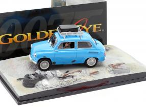 ZAZ-965A blue Goldeneye James Bond Movie Car 1:43 Ixo