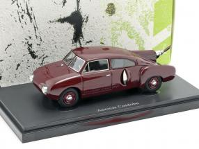 Aerocar Cordoba year 1953 dark red 1:43 AutoCult