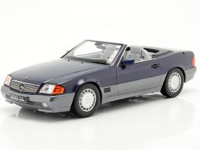 Mercedes-Benz 500 SL (R129) year 1993 blue metallic 1:18 KK-Scale