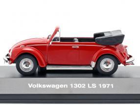 Volkswagen VW Beetle 1302 LS Cabriolet year 1971 red