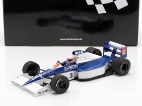 Satoru Nakajima Tyrrell 018 #3 6th United States GP formula 1 1990 1:18 Minichamps