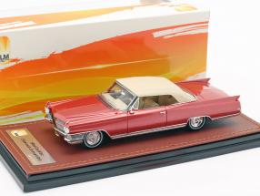 Cadillac Eldorado Convertible Closed Top year 1964 red metallic 1:43 GLM