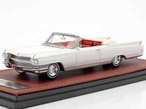 Cadillac Eldorado Convertible Open Top year 1964 aspen white 1:43 GLM