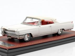 Cadillac Eldorado Convertible Closed Top year 1964 aspen white 1:43 GLM