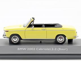 BMW 2002 Cabriolet 2/2 Baur yellow
