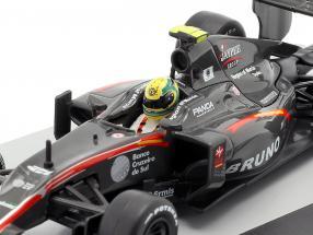 Bruno Senna HRT F110 #21 Brazilian GP formula 1 2010