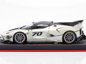 Ferrari FXX-K Evo #70 Presentation Car 2017 pearl white metallic  BBR