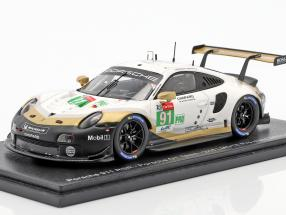 Porsche 911 RSR #91 2nd LMGTE Pro 24h LeMans 2019 Porsche GT Team 1:43 Spark
