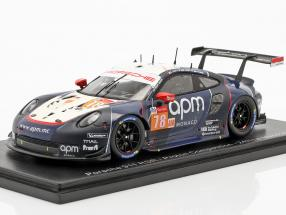 Porsche 911 RSR #78 24h LeMans 2019 Proton Competition 1:43 Spark
