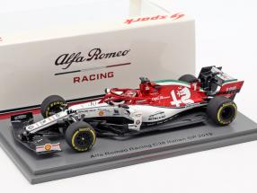 Kimi Räikkönen Alfa Romeo Racing C38 #7 Italien GP Formel 1 2019 1:43 Spark