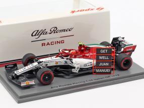 Antonio Giovinazzi Alfa Romeo Racing C38 #99 Italian GP Formula 1 2019 1:43 Spark