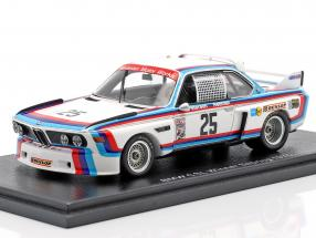 BMW 3.0 CSL #25 Winner 12h Sebring IMSA 1975 BMW Motorsport 1:43 Spark