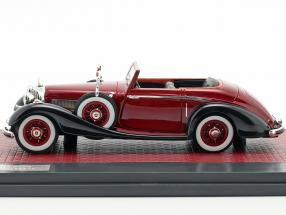 Mercedes-Benz 540K Roadster Lancefield Open Top 1938 red
