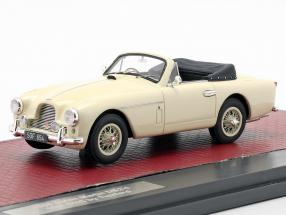 Aston Martin DB2/4 MK II DHC by Tickford Open Top 1955 cream White 1:43 Matrix