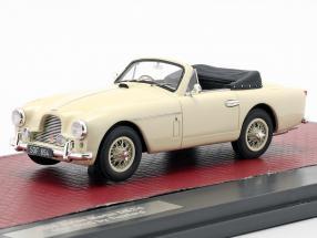 Aston Martin DB2/4 MK II DHC by Tickford Open Top 1955 creme weiß 1:43 Matrix