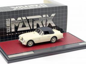 Aston Martin DB2/4 MK II DHC by Tickford Closed Top 1955 cream white 1:43 Matrix