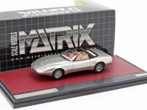 Jaguar XJ Spyder Concept Pininfarina Open Top 1978 silver 1:43 Matrix