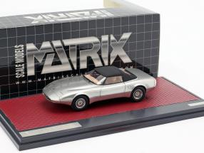 Jaguar XJ Spyder Concept Pininfarina Closed Top 1978 silver 1:43 Matrix