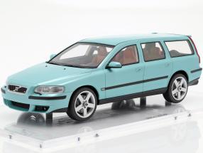 Volvo V70 R Baujahr 2003 blaugrün 1:18 DNA Collectibles