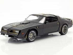 Tego's Pontiac Firebird Trans Am year 1978 Movie Fast & Furious IV 2009 black 1:18 Greenlight