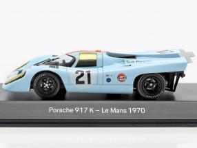 Porsche 917K Gulf #21 24h LeMans 1970 Rodriguez, Kinnunen