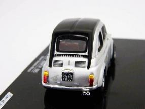 Fiat Abarth 695 Baujahr 1964 silbermetallic 1:43 Vitesse