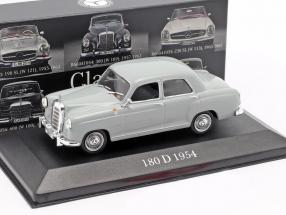 Mercedes-Benz 180 D Ponton (W120) year 1954-1959 pearl grey 1:43 Premium Collectibles