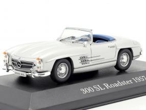 Mercedes-Benz 300 SL Roadster (W198) year 1957-1963 silver 1:43 Premium Collectibles