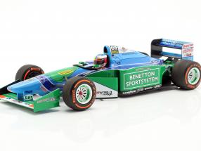 Mick Schumacher Benetton B194 #5 Demo Run GP Spa formula 1 2017 1:18 Minichamps