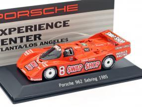 Porsche 962 #8 Winner 12h Sebring 1985 Wollek, Foyt 1:43 Spark