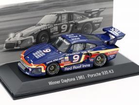 Porsche 935 K3 #9 Winner 24h Daytona 1981 Garretson Racing 1:43 Spark