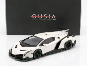 Lamborghini Veneno Year 2014 white metallic 1:18 Kyosho