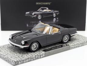 Maserati Mistral Spyder Year 1964 black 1:18 Minichamps